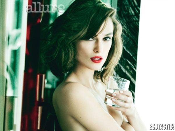 Keira Knightley Covers Her Own Petitie Puppies | Daily Girls @ Female Update