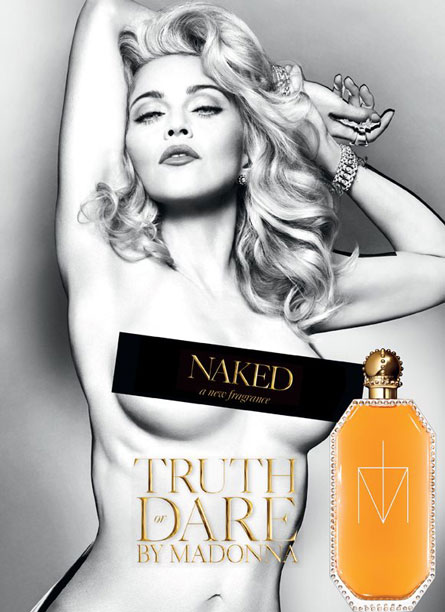 """Madonna's """"Truth Or Dare Naked"""" Ad"""