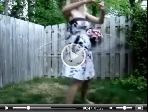 Alisa Kiss does the Hula Hoop | Daily Girls @ Female Update