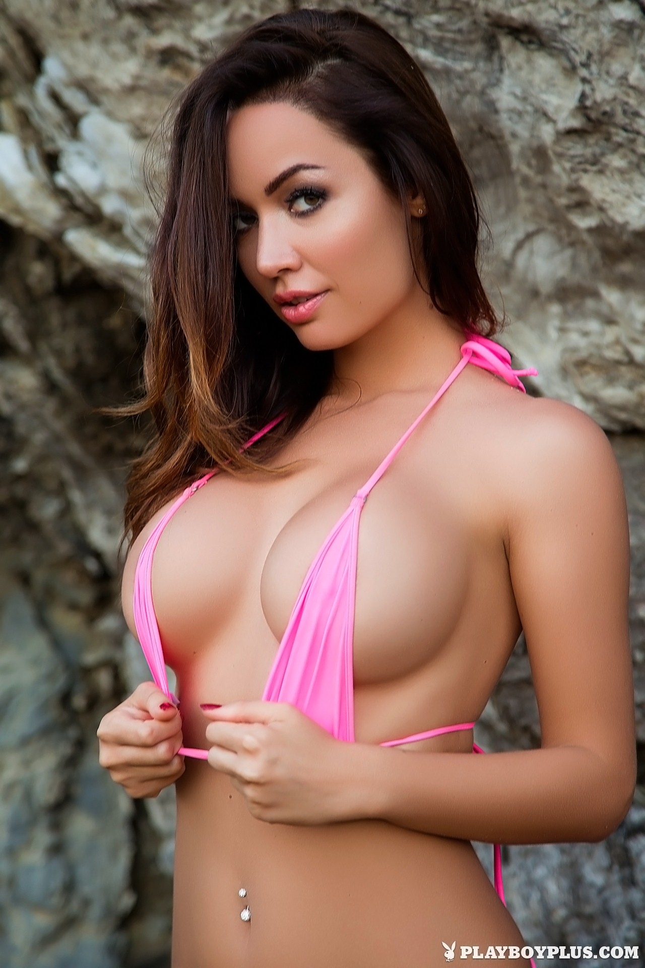 Adrienn Levai nude in Pink Bikini for Playboy | Daily Girls @ Female Update
