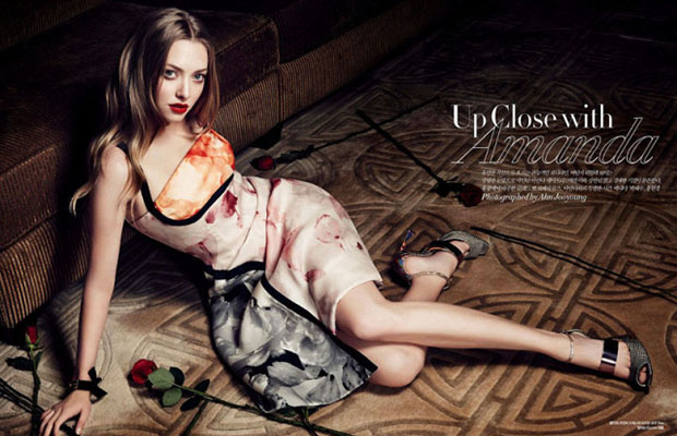 Amanda Seyfried in Harper's Bazaar Korea | Daily Girls @ Female Update