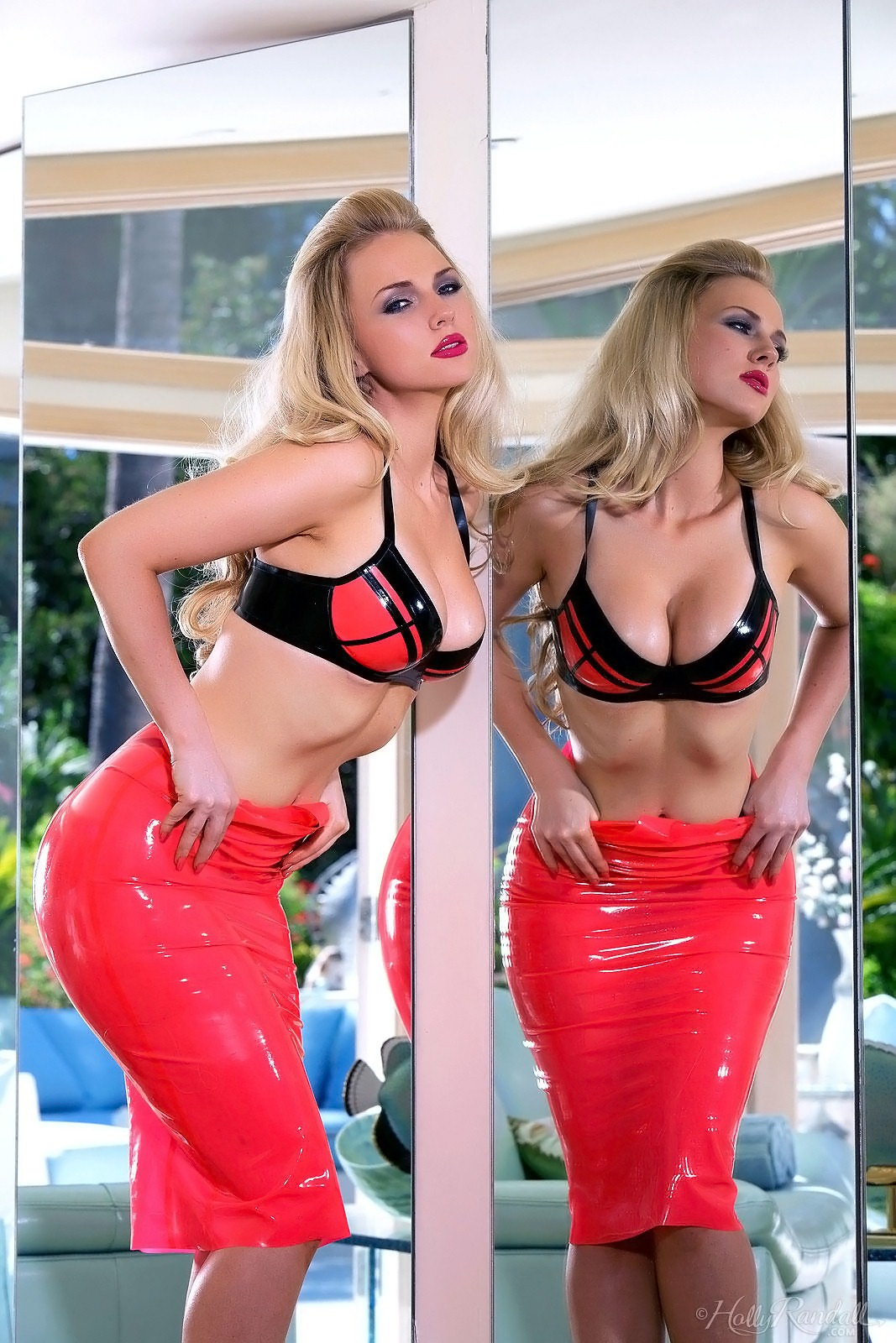 Ancilla Tilia nude in Pink Latex for Holly Randall | Daily Girls @ Female Update
