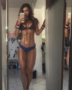 Anllela Sagra Latina Fitness Model | Daily Girls @ Female Update