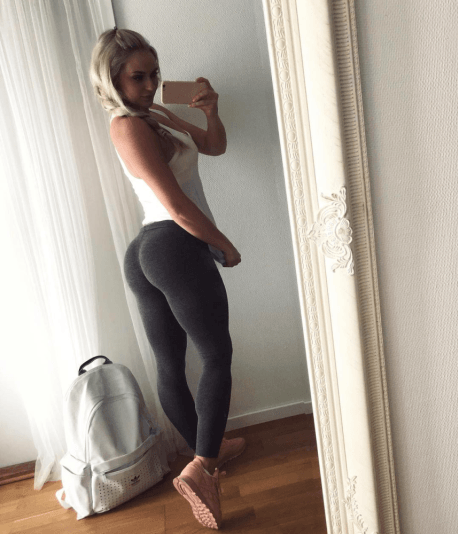 Anna Nystrom is the Yoga Pants Queen