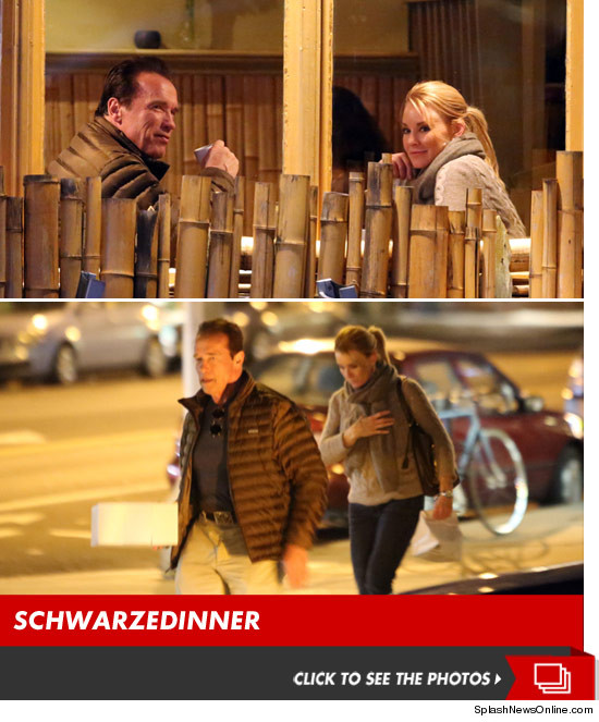Arnold Schwarzenegger  The Hot Blonde Dinner Date | Daily Girls @ Female Update