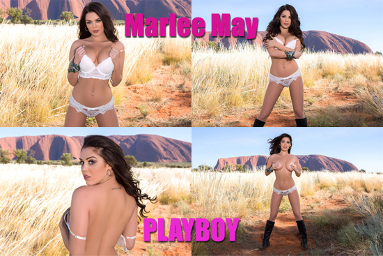 Australian First-Timer Poses Nude for Playboy – Ma