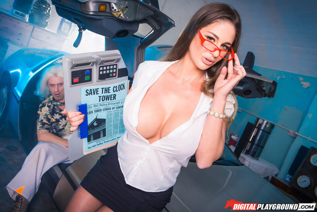 Back In Time XXX Parody For Back To The Future Day | Daily Girls @ Female Update