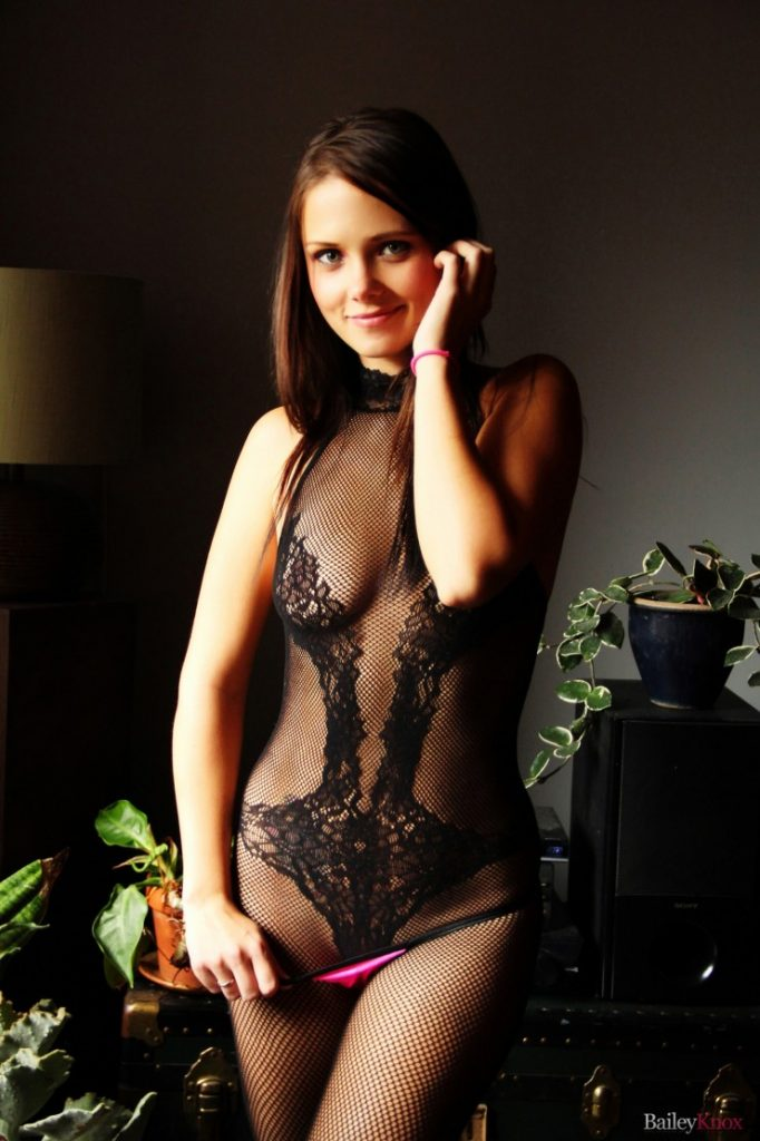 Bailey Knox in a Lacy Bodysuit | Girls Teasing | Daily Girls @ Female Update
