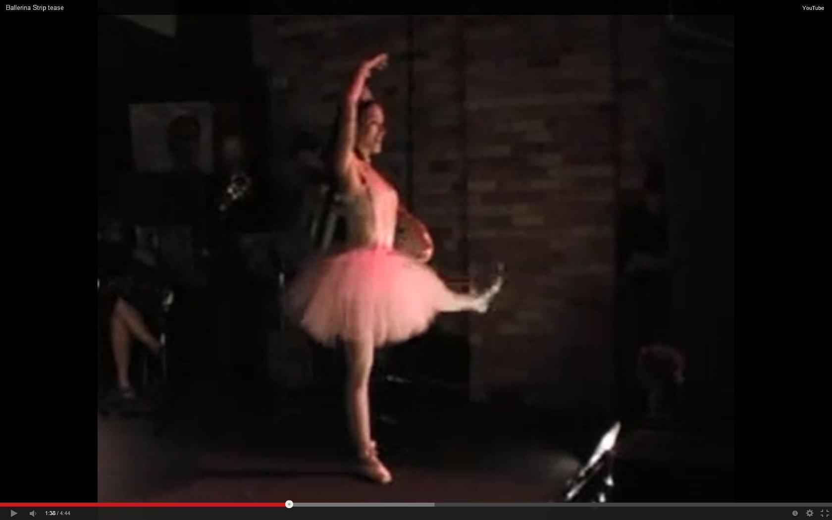 Ballerina Strip Tease