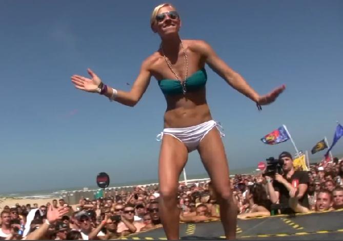 Bikini Girls Dance for Spring Break