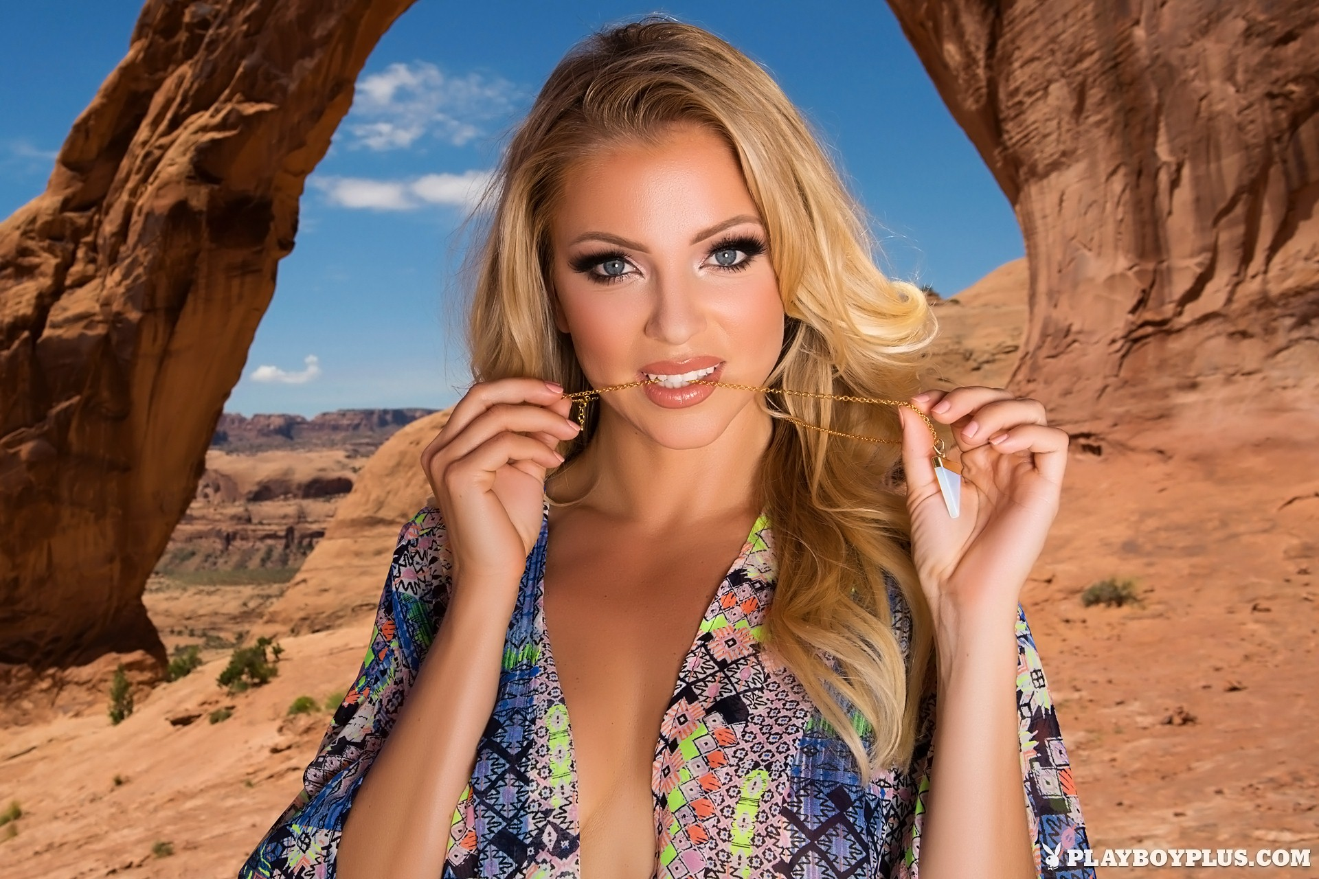 Blanca Brooke nude in Desert Rose for Playboy | Daily Girls @ Female Update