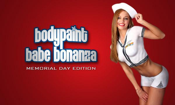 Bodypaint Babe Bonanza: Memorial Day Edition
