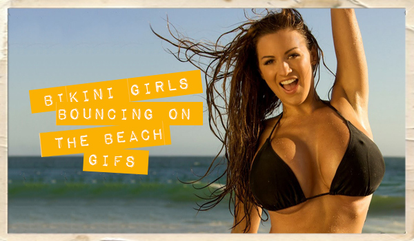 Boobs Bouncing on the Beach | Daily Girls @ Female Update