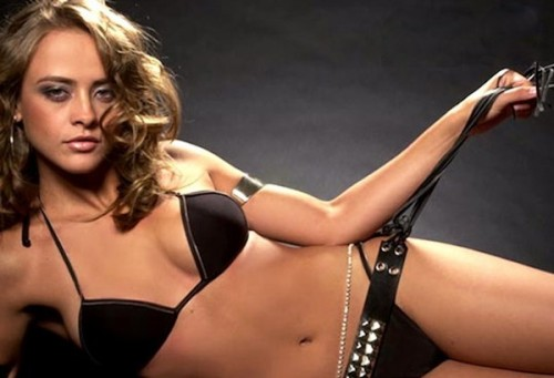 Brazilian Model and Singer Juliana Silveira