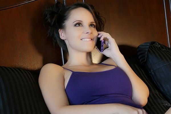 Bryci Has Fun on the Phone | Daily Girls @ Female Update