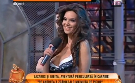 Busty Singer Nipslip on Live TV | Daily Girls @ Female Update