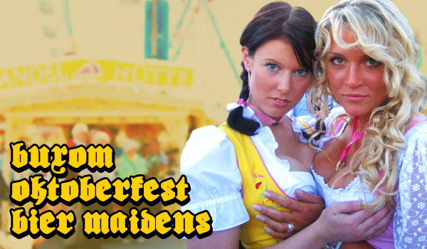 Buxom Oktoberfest Bier Maidens | Daily Girls @ Female Update