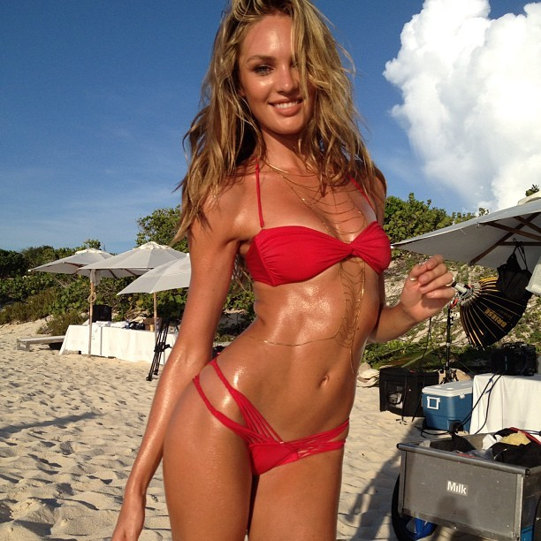 Candice Swanepoel is also an Instagram supermodel | Daily Girls @ Female Update
