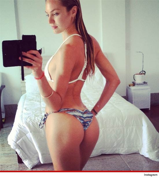 Candice Swanepoel's Ass Amazing Bikini Swallower | Daily Girls @ Female Update