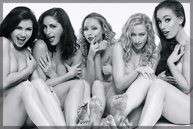 Carlotta Champagne, Stephy C, and Titania   Daily Girls @ Female Update