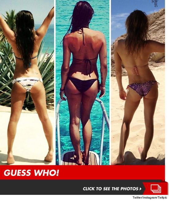 Celeb Beach Buns — Guess Who! | TMZ.com