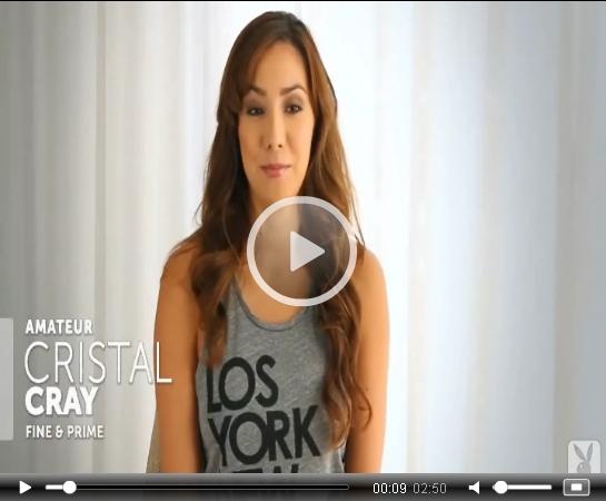 Cristal Cray Playboy Tease