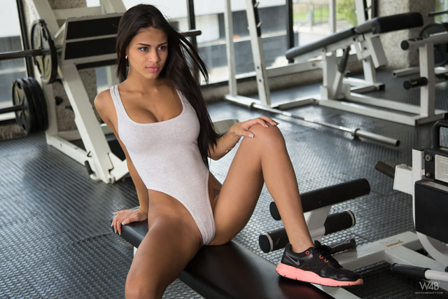 Denisse Gomez At The Gym   Daily Girls @ Female Update