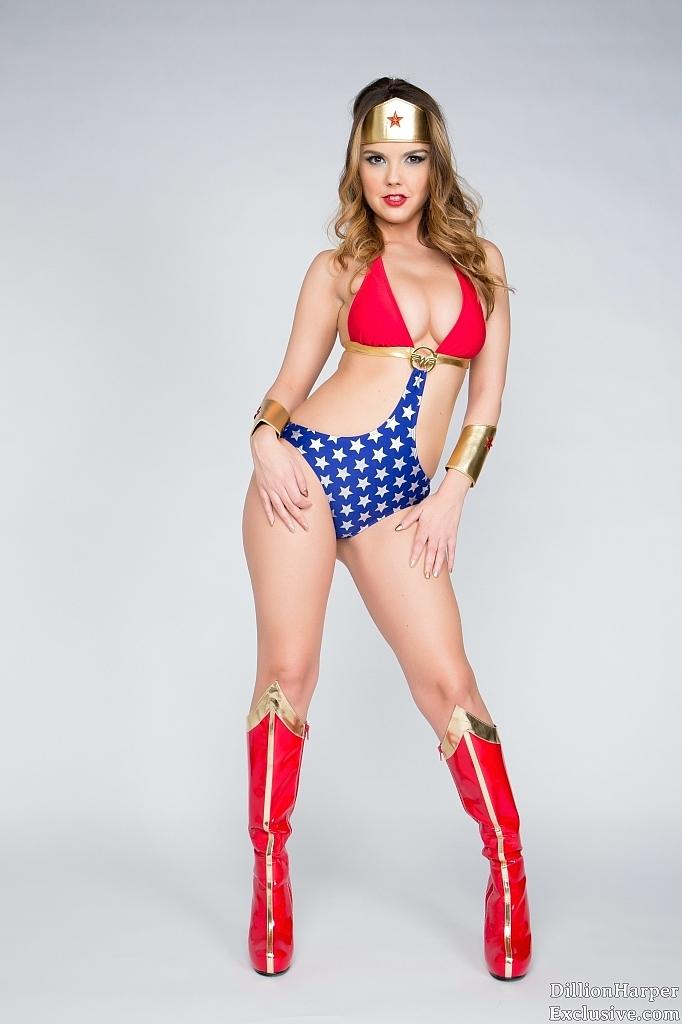 Dillion Harper is Wonder Woman | Daily Girls @ Female Update