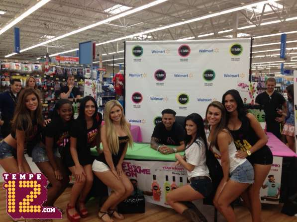 DJ Pauly D Meets The Girls Of Tempe12 | Daily Girls @ Female Update
