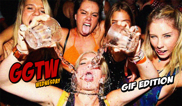 Drunk College Party Girl GIFs