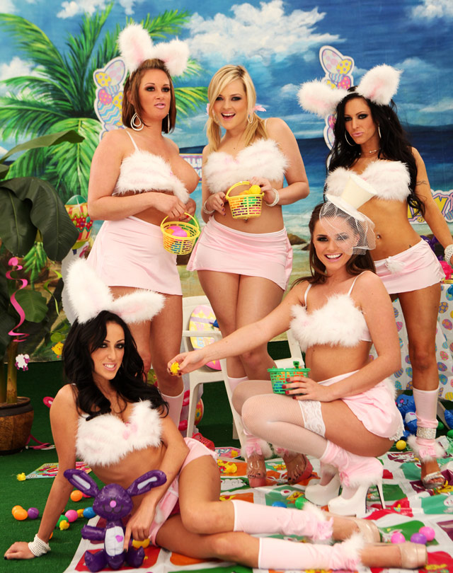 Easter Party With The Hottest Bunnies | Daily Girls @ Female Update