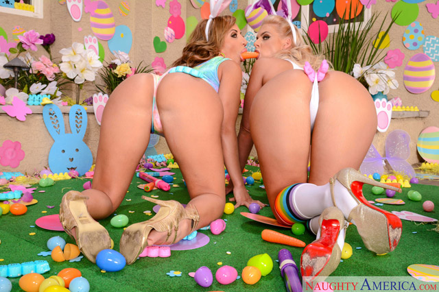 Easter Porn: Richelle Ryan & Phoenix Marie | Daily Girls @ Female Update