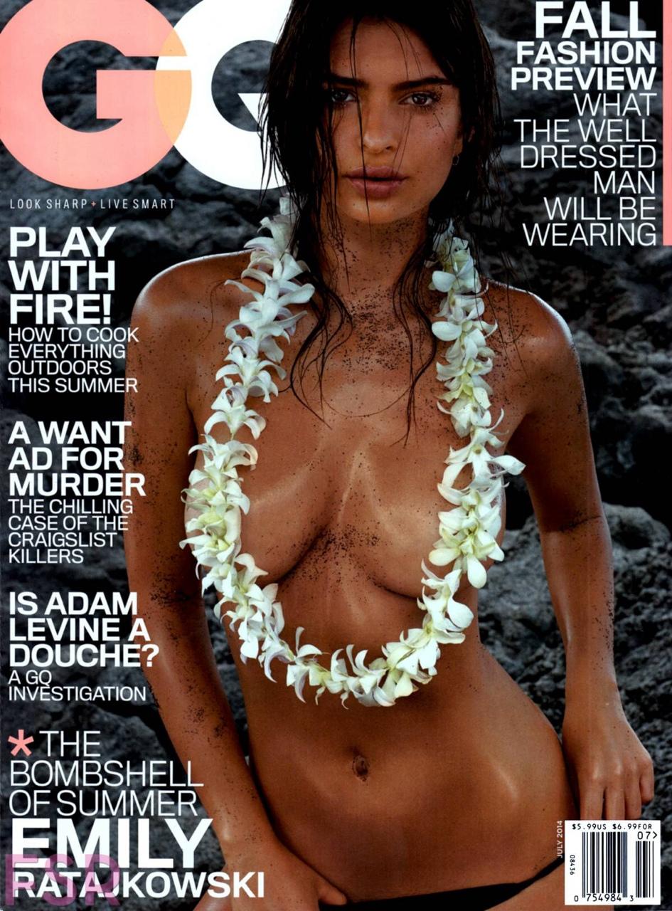 Emily Ratajkowski Is Naked In GQ Magazine | Daily Girls @ Female Update