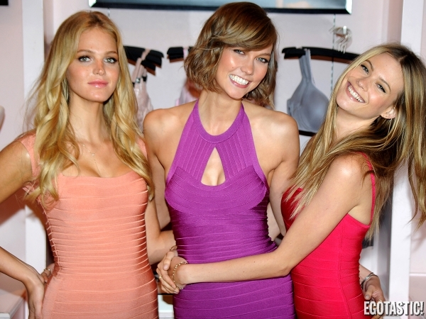 Erin Heatherton, Karlie Kloss and Behati Prinsloo | Daily Girls @ Female Update