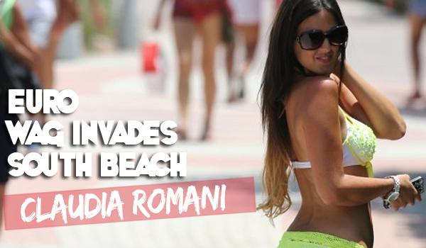 Euro Soccer Superfan Claudia Romani | Daily Girls @ Female Update