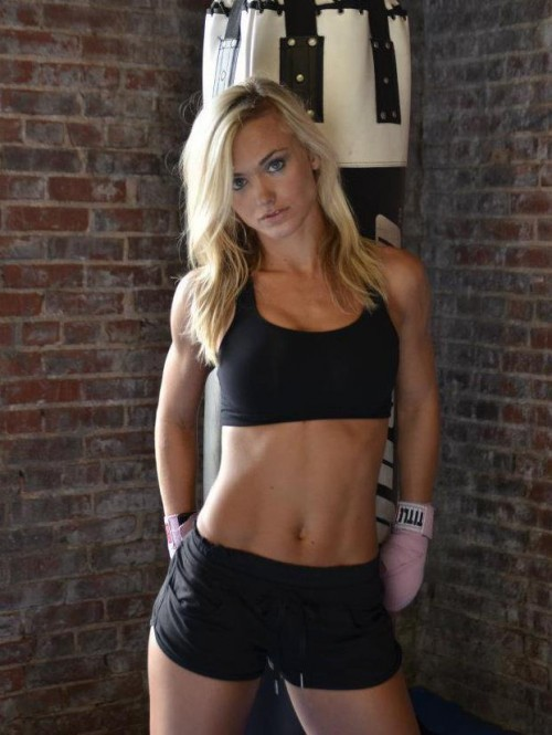 Former Chiefs Cheerleader Tries out New MMA Career