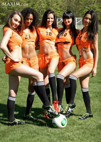 Girls Playing Soccer | Maxim | Daily Girls @ Female Update