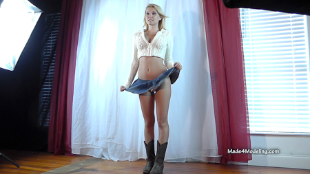 Hannah Marie Poses on Made4Modelling | Daily Girls @ Female Update