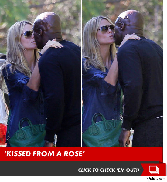 Heidi Klum & Seal — BACK ON KISSING TERMS | Daily Girls @ Female Update