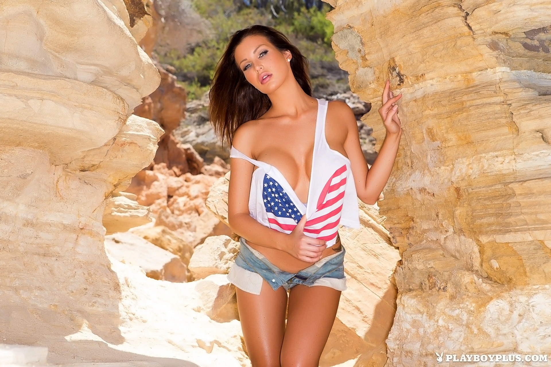 Helen de Muro in Red, White & Nude for Playboy | Daily Girls @ Female Update