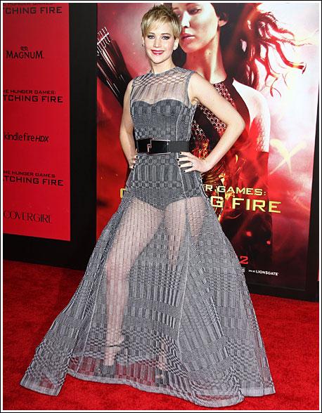 Jennifer Lawrence's Hotness Is On Fire!