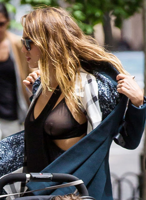 Jessica Alba And Her See Through Bra | BabesBible | Daily Girls @ Female Update