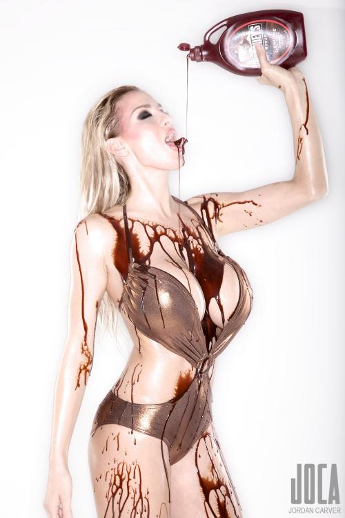 Jordan Carver Is Covered In Chocolate | BabesBible | Daily Girls @ Female Update