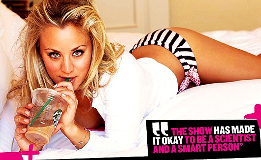 Kaley Cuoco The Sexiest Girl Next Door | Daily Girls @ Female Update