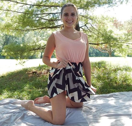 Kaley Kade Picnic   Daily Girls @ Female Update