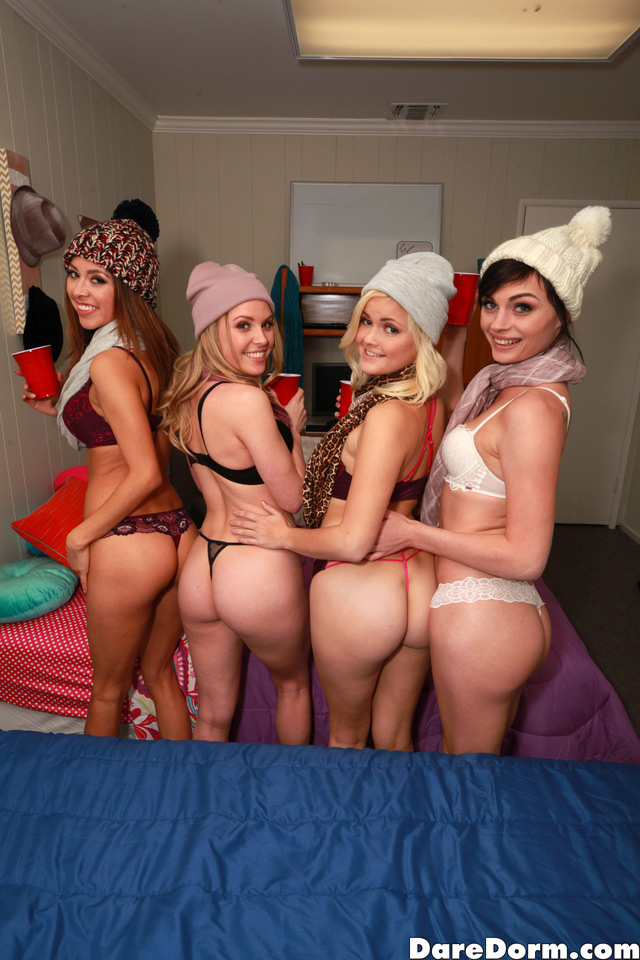 Kara, Aubrey, Madison & Haven | Daily Girls @ Female Update