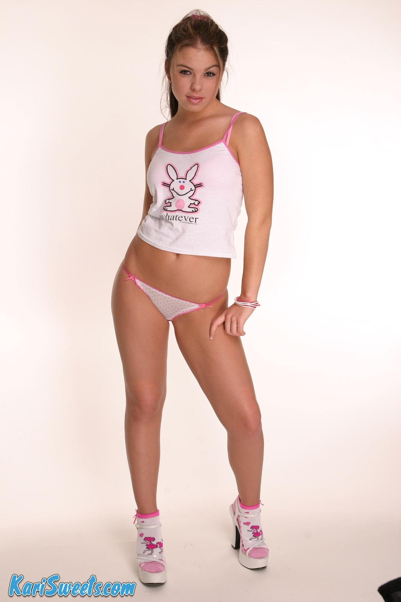 Kari Sweets looking hot in pink panties | Daily Girls @ Female Update