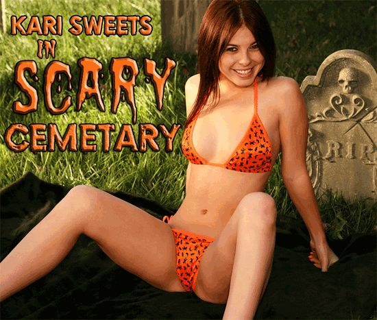 Kari Sweets Scary Cemetery Zipset Ultimate | Daily Girls @ Female Update