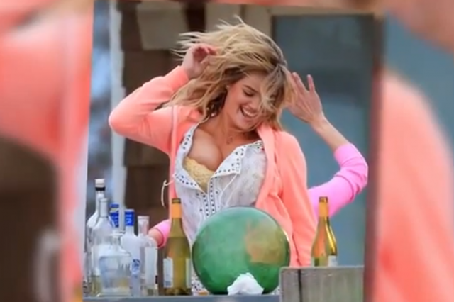 Kate Upton Bounces Up and Down | Daily Girls @ Female Update