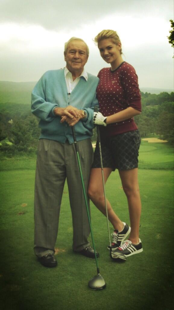 Kate Upton Golfed With Arnold Palmer | Daily Girls @ Female Update